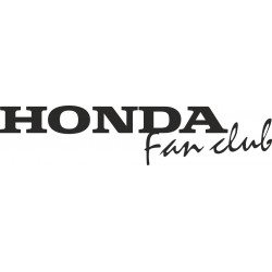 Honda fan club