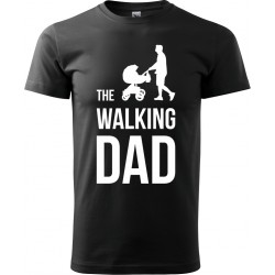 Tričko The Walking Dad s kočárkem