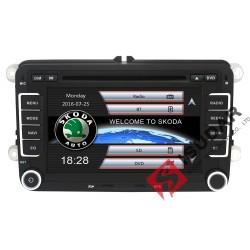 2 DIN Autorádio Isudar MNS710 VW / ŠKODA / SEAT - GPS navi