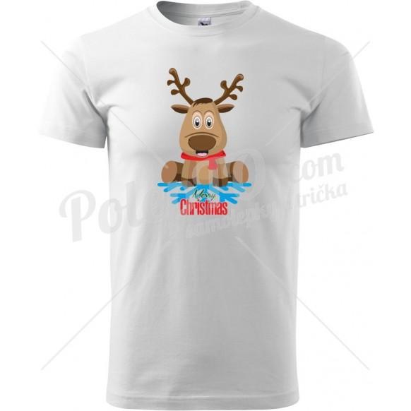 Tričko Sob s vločkou a Merry Christmas