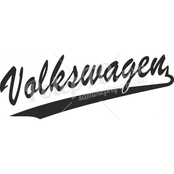 VW old font