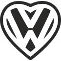 VW srdce