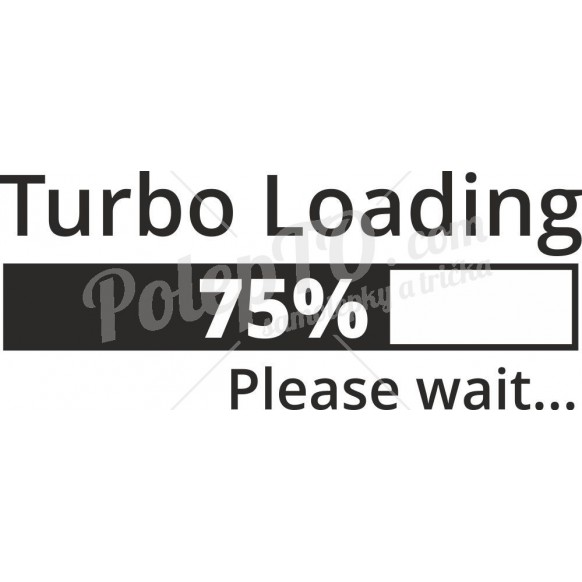 Turbo loading, 75% please wait...