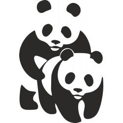 Pandy v akci