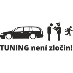 Tuning není zločin Octavia 1 combi
