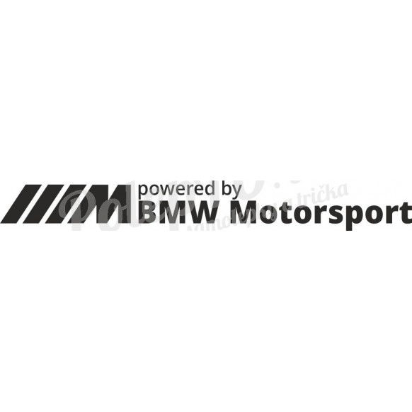 Powered by BMW motorsport