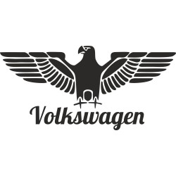 Orlice s Volkswagen nápisem