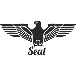 Orlice se Seat nápisem