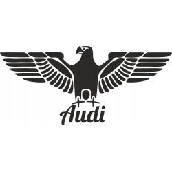 Orlice s Audi nápisem