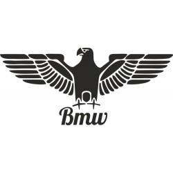 Orlice s BMW nápisem