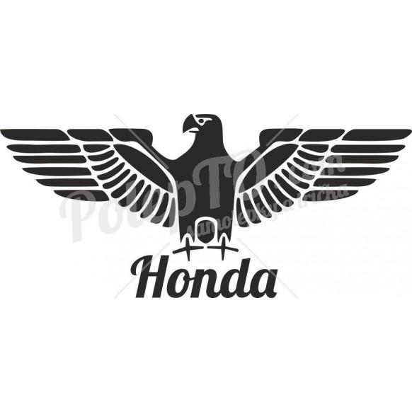 Orlice s Honda nápisem
