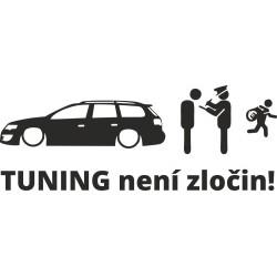 Tuning není zločin Passat B6 combi