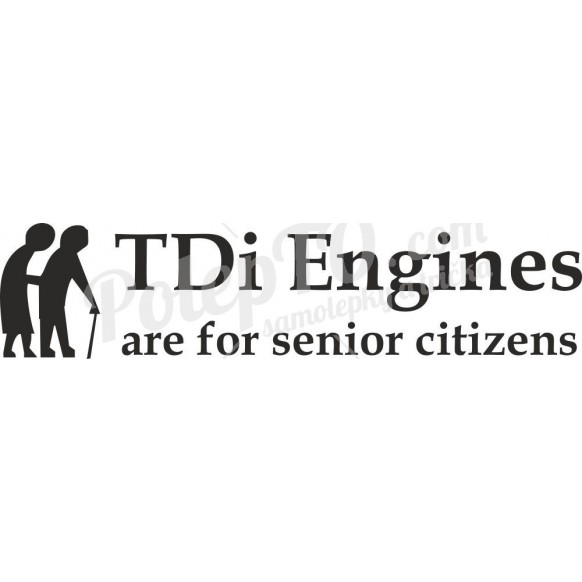 TDi engines are for senior citizens