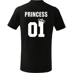 Dětské tričko Princess