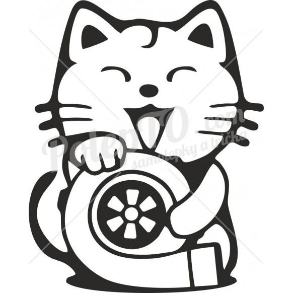 Happy turbo cat