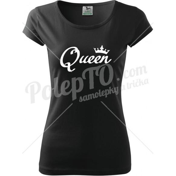 Tričko Queen s korunkou