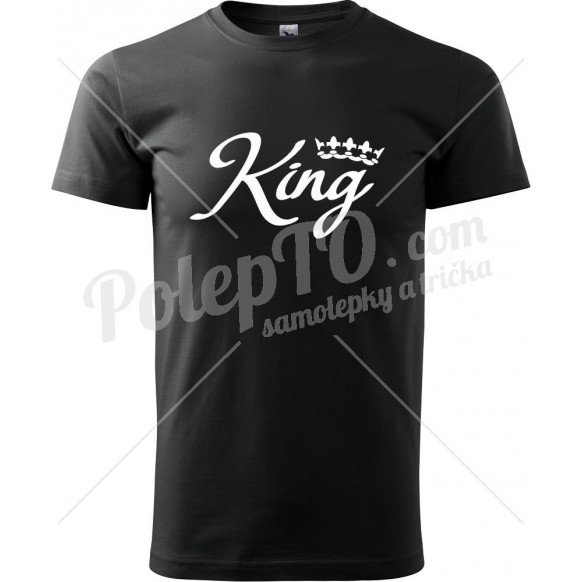 Tričko King s korunkou