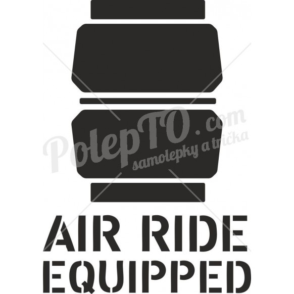 Air ride equipped