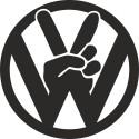 VW peace hand