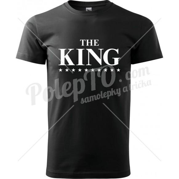Tričko The King s hvězdami