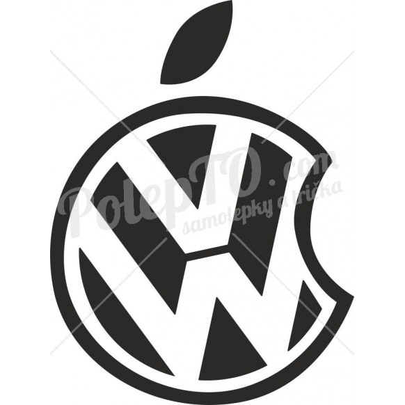 VW Apple logo