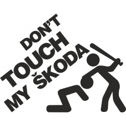 Don't touch my škoda