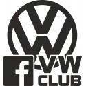 VW club s facebook logem