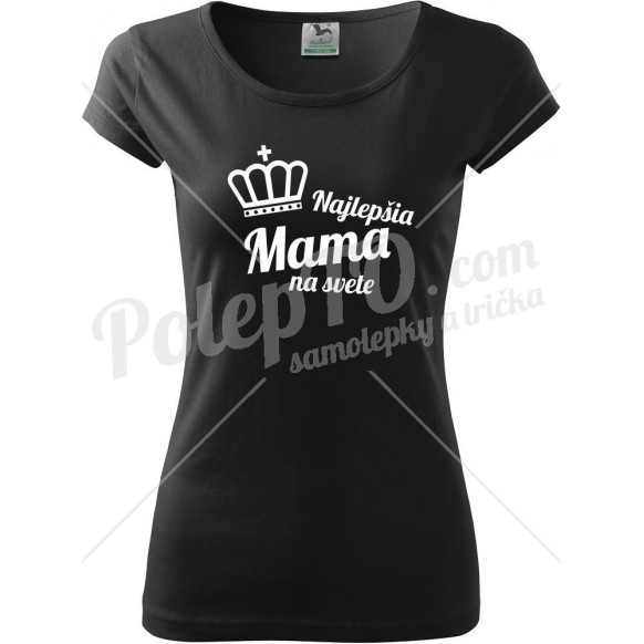 Tričko najlepšia mama na svete