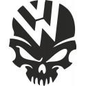 VW lebka