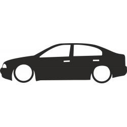 Silueta octavia 1 sedan