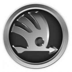 Znak / logo Škoda, lesklé