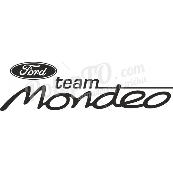 Team ford mondeo