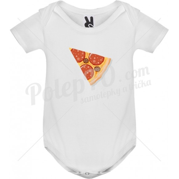 Body tričko s Pizzou