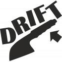 Ruční brzda - drift