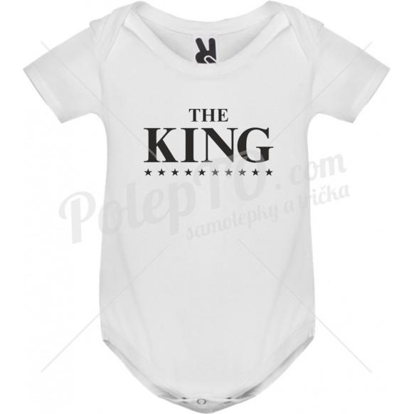 Body tričko The king s hvězdami