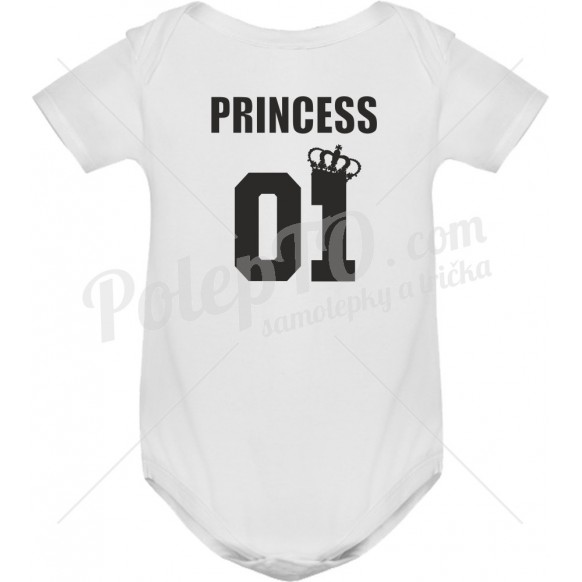 Body tričko Princess 01