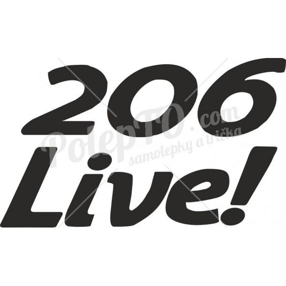 Peugeot 206 live!