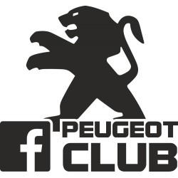 Peugeot club s facebook logem