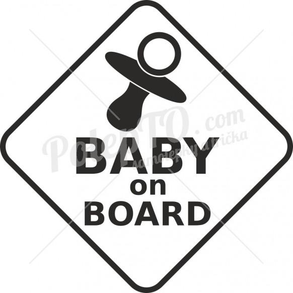 Baby on board dudlík