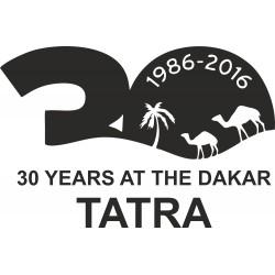 Tatra 30 years at the dakar 1986-2016