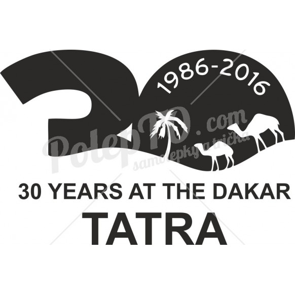 Tatra 30 years at the dakar 1986-2016