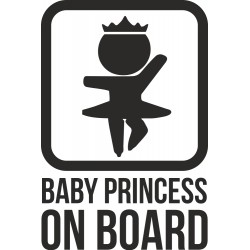 Baby princess on board