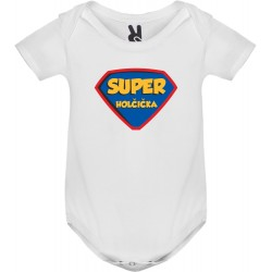 Body tričko Super holčička